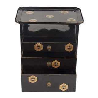 Japanese Lacquer Cosmetics Cabinet For Sale