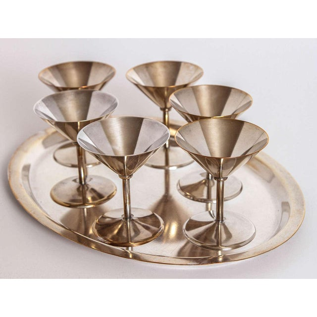 Art Deco Silver Plate Cocktail Set by WMF Germany - Image 10 of 11