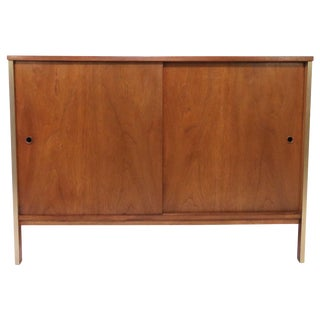 Paul McCobb for Calvin Furniture Two-Door Cabinet, Circa Early 1960s For Sale