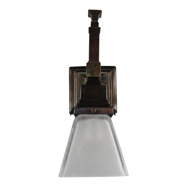 Luxury Arts & Crafts Mission Wall Sconce (Long Tail) | DECASO