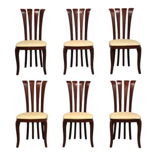 A. Sibau Italian Dining Chairs - Set of 6 For Sale
