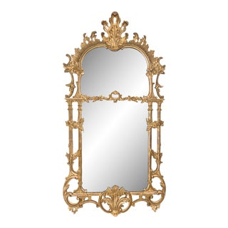 George III Style Giltwood Mirror For Sale