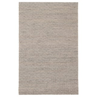 Jaipur Living Wales Natural Geometric Gray/ White Area Rug - 5′ × 8′ For Sale