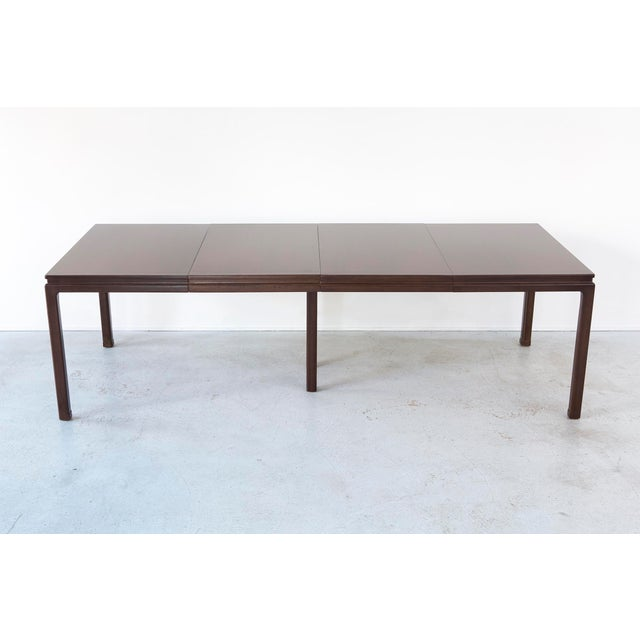 Edward Wormley for Dunbar Extending Dining Table - Image 6 of 8