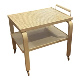 Alvar Aalto Style Tea Cart For Sale
