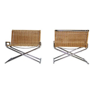 Ward Bennett Brickel Sled Chairs For Sale