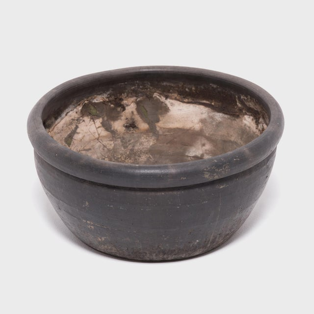 Chinese Black Clay Basin For Sale - Image 4 of 6