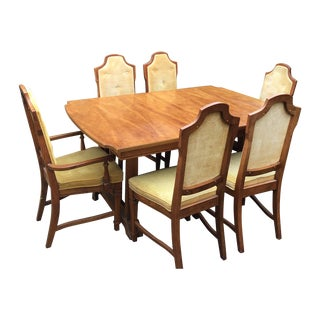 1960s Bassett Mid-Century Dining Set For Sale