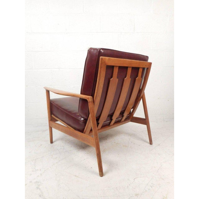 Mid-Century Modern Mid-Century Modern Danish Teak Lounge Chair For Sale - Image 3 of 10
