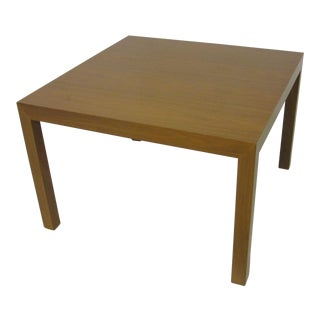 Edward Wormley for Dunbar Walnut Lamp / Side Table For Sale