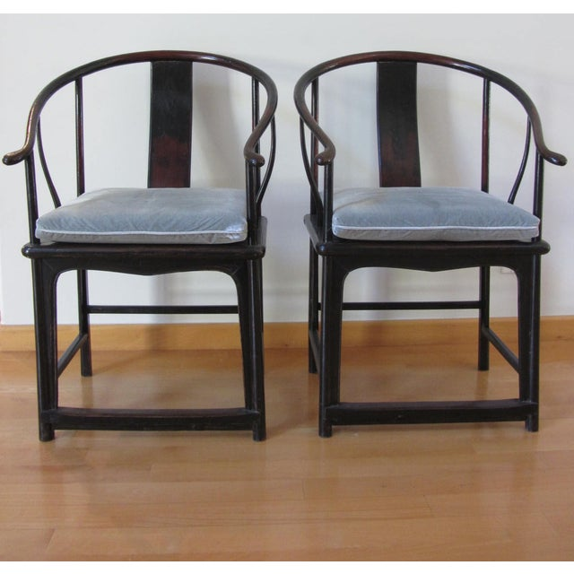 Art Deco Oval Back Lacquer Dining Chairs - 10 - Image 10 of 11