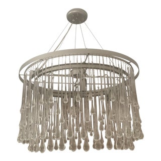 Ochre chainmail chandelier chairish ochre nyc round light drizzle chandelier aloadofball Image collections