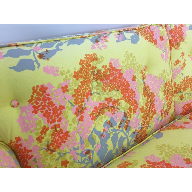 Dorothy Draper Floral Sofa - Image 6 of 6