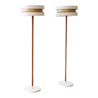 Rare Pair of Extending Floor Lamps by Lisa Johansson-Pape, Finland, 1960s