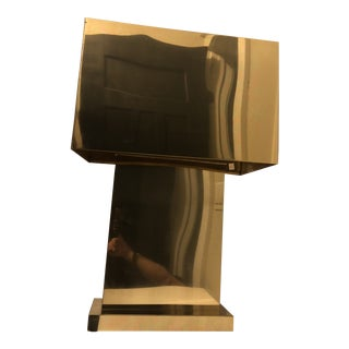 Curtis Jere Brass Table Lamp For Sale