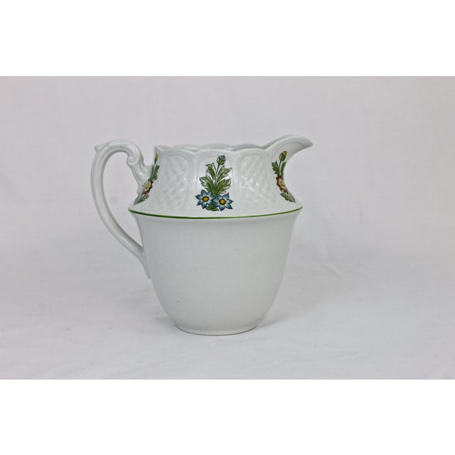 Cottage Royal Cauldon Ironstone Cream Pitcher For Sale - Image 3 of 7