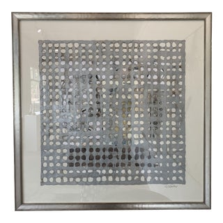 Contemporary Abstract Paper Piece Artwork by Stephanie Wheeler, Framed For Sale