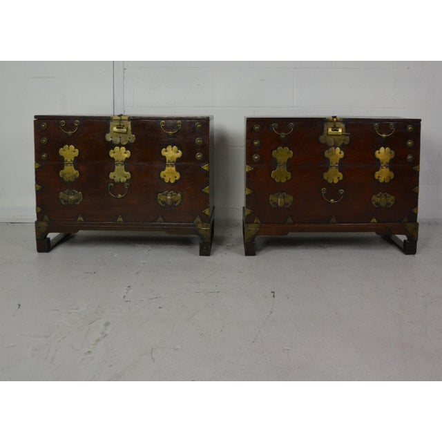 1920s Asian Nightstands-a Pair For Sale In Los Angeles - Image 6 of 6