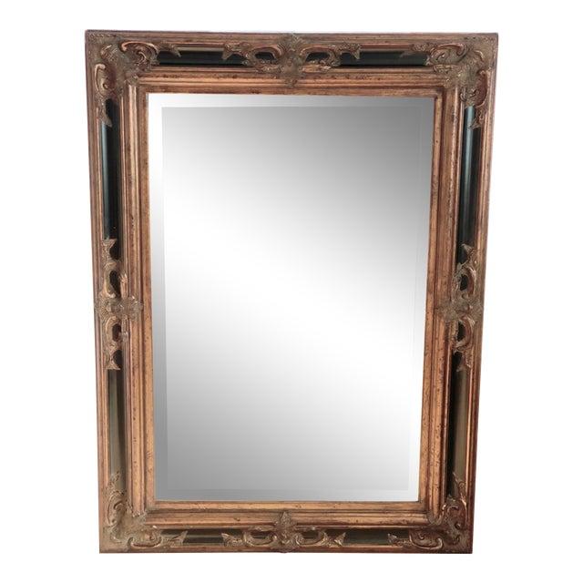 Golden Rectangular Wall Mirror Chairish, Extra Large Wall Hung Mirror