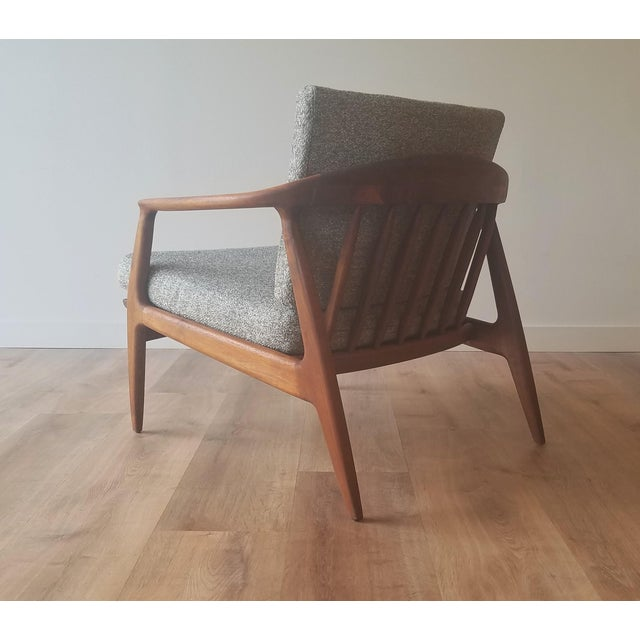 DUX 1950s Folke Ohlsson Armchair 72-C for Dux For Sale - Image 4 of 13