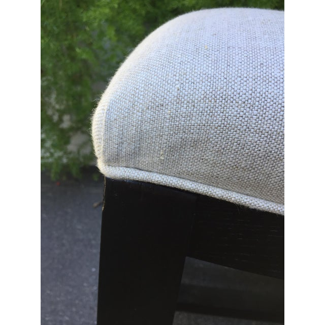 Asian Inspired Saddle Bench - Image 6 of 6