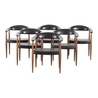 Eterna Armchairs by Ilmari Lappalainen - Set of 6 For Sale