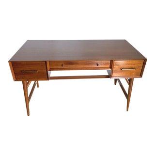 Mid-20th Century American Walnut Desk For Sale
