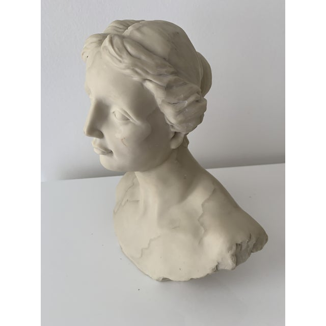 1990s Bust of Diana Sculpture For Sale - Image 5 of 7