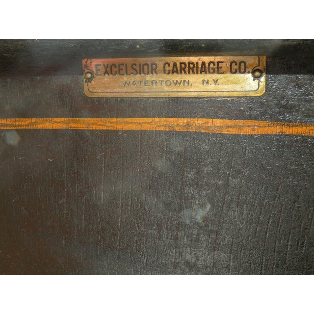 Traditional Antique Portland Cutter Sleigh Christmas Sled For Sale - Image 3 of 10