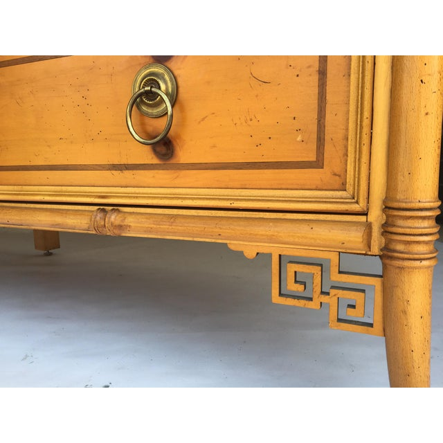 Baker Furniture Chinese Chippendale Bamboo Dresser - Image 7 of 8