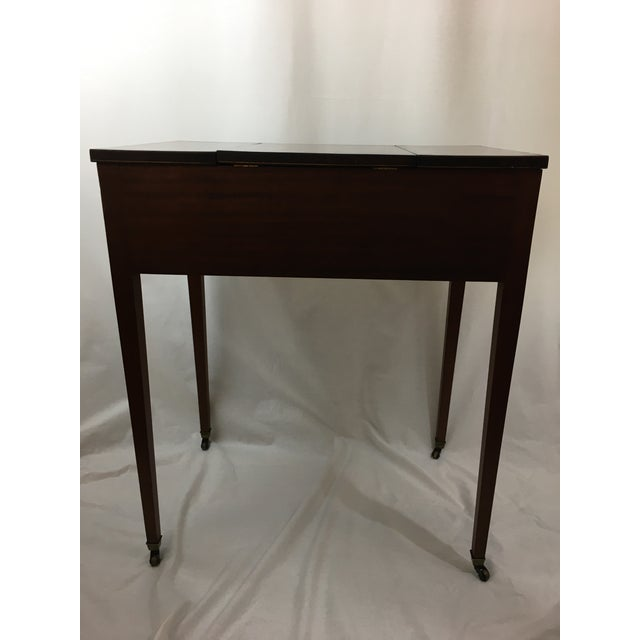 Early 20th Century Mahogany Vanity For Sale - Image 9 of 13