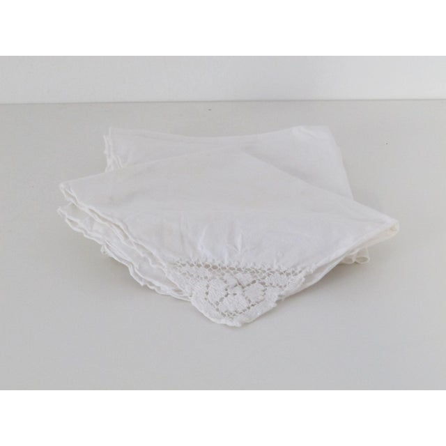 Traditional Linen Napkins - Set of 5 - Image 2 of 3