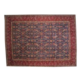 Leon Banilivi Persian Tabriz Carpet - 8′7″ × 11′10″ For Sale
