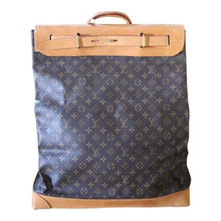 Extra Large Louis Vuitton Monogram Steamer Bag For Sale