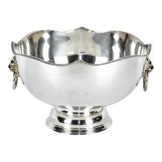 English Plated Barware/Cooler For Sale