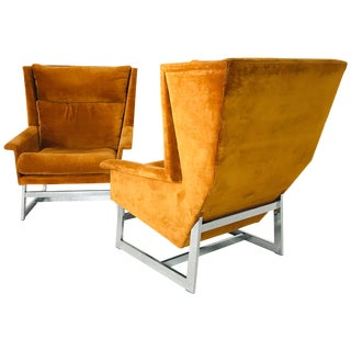 Pair of MCM Adrian Pearsall by Comfort Design Chairs For Sale