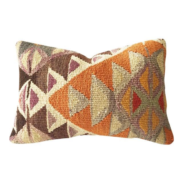 Vintage Kilim Lumbar Pillow - Image 1 of 5