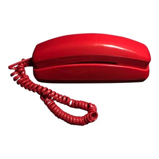 Vintage Hotline Working Red Princess Phone For Sale