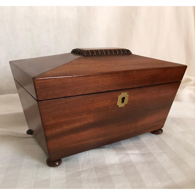 19th Century English Rosewood Tea Caddy For Sale - Image 11 of 11