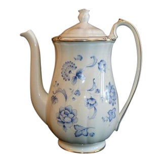 Ashbury Wedgwood Bone China Coffee Pot Made in England For Sale