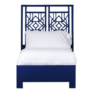 Tulum Bed Twin Extra Long - Navy Blue For Sale