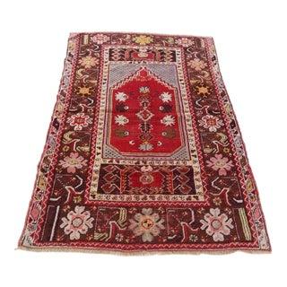 Anatolian Vintage Rug - 3′3″ × 5′