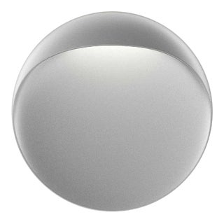'Flindt' Indoor or Outdoor Wall Light in Aluminum Gray for Louis Poulsen For Sale