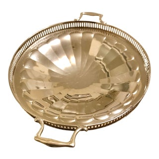 1946 Sterling Silver Caviar Dish For Sale