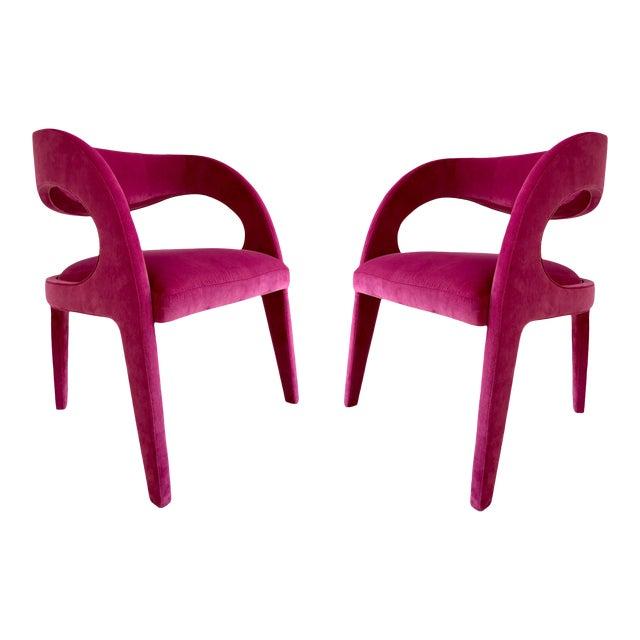 Avant-Garde Berenice Fendi Chairs - a Pair For Sale