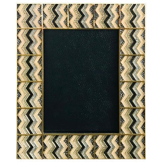 Fabio Ltd Shagreen Gold-Plated Photo Frame For Sale