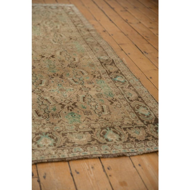"Old New House Vintage Distressed Shiraz Carpet - 5'4"" X 8'3"" For Sale - Image 4 of 12"