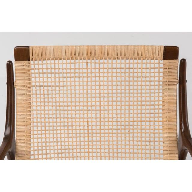 Brown Mid Century Modern Ib Kofod Larsen Selig Armchair For Sale - Image 8 of 13