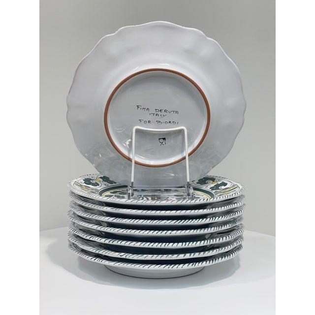 Not Yet Made - Made To Order Orvieto Dinner Plate, Full Design - Set of 8 For Sale - Image 5 of 10