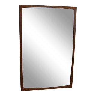 Danish Modern Large Teak Entry Mirror by Kai Kristiansen for Aksel Kjersgaard For Sale